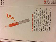 Paint touch up pen! Slobproof.com