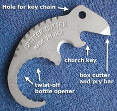 Critter Cutter Bottle Opener