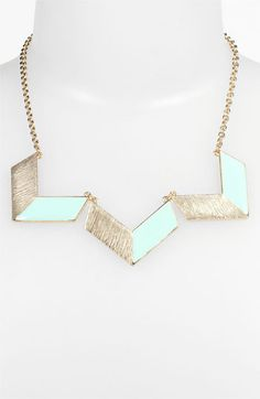 Chevron Statement Necklace - Only 16.00!