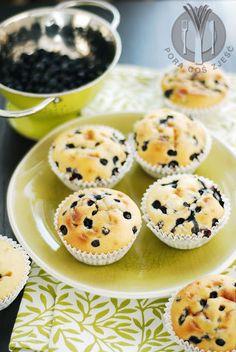 Blueberry muffins / Muffiny z jagodami
