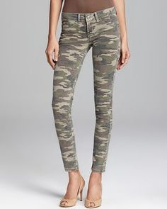 Quotation: SOLD design lab Jeans - Camo Skinny on shopstyle.com