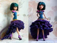 Monster High dress Monster High Clothes hand made by MonstersNight