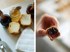 small toasts