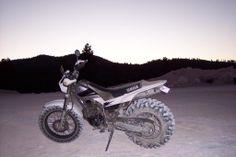 Yamaha TW200 with Duro Power Grip 26x8x14 ATV Tyre.