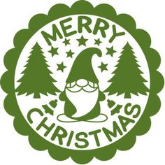 Silhouette Design Store: Have Yourself A Merry Little Christmas Silhouette Cameo Projects, Silhouette Design, Christmas Gnome, Merry Christmas, Christmas Wood, Christmas Shirts, Christmas Crafts, Christmas Ornament Template, How To Make Stickers