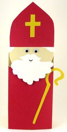 St. Nicholas Paper Bag Puppet