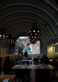 burgundy 01  >Restaurant Interiors: >8 Exciting  Restaurant  Interior Designs Concepts< by Pinky and the Brain