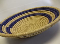 Your place to buy and sell all things handmade Basket Weaving, Hand Weaving, Traditional Bowls, Valentines Day Gifts For Her, Fair Trade, Thoughtful Gifts, Decorative Bowls, Grass, African
