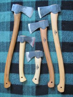 Axes. I want 3. Actually I lie, I want them ALL, and a billhook, and an adze, and a......