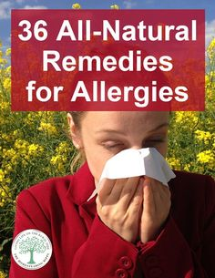 There are a number of natural remedies that you can use to help yourself manage your allergies – seasonal or otherwise. Check out this list of the 36 best and most effective home remedies for allergies. Home Remedies For Mosquito, Home Remedies For Sunburn, Natural Headache Remedies, Natural Home Remedies, Eczema Remedies, Natural Healing, Home Remedies For Allergies, Allergy Remedies, Les Allergies