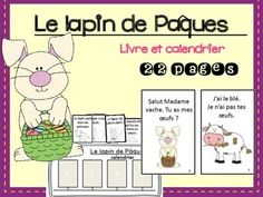 It is great to read to your class in March/April.  Great for working with: j'ai, tu as?, je n'ai pas, lapin, canard, vache, cheval, chat, cochon, poussin, frères et sœurs