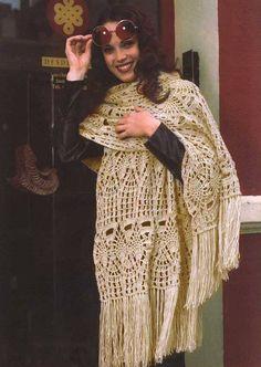 Modele manteau femme au crochet