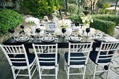 Черно-белая свадьба / Готическая свадьба | ДЕКОР для СВАДЬБЫ — Demidini