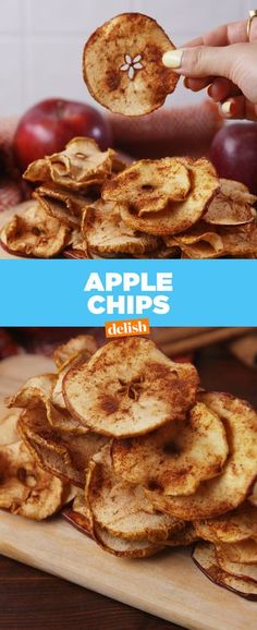 It's official: Apple Chips are the easiest recipe of all time. Get the recipe from Delish.com.