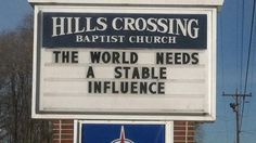 Church Signs of the Week: December 26, 2014 | The Exchange | A Blog by Ed Stetzer
