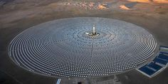 World's Largest Solar Thermal Power Plant Approved for Australia - Solar thermal plants are different from traditional photovoltaic panels on rooftops and solar farms around the world. These plants, also known as concentrated solar plants (CSP), consists of a large field of mirrors to concentrate the sun's rays to heat molten salt, which then produces superheated steam to drive a generator's turbines.