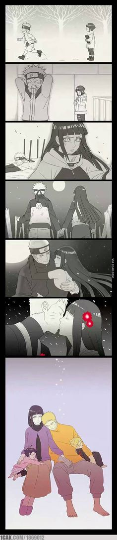 just naruto and hinata love story