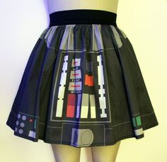 Vader Full Skirt by GoFollowRabbits on Etsy, $54.99    Hahah, wow. All I'd need is the lightsaber!