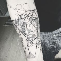 Dog by Susboom Tattoo