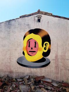 Plongez dans le street art conceptuel et ultra-coloré de Gripface | Ufunk.net