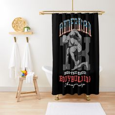 Promote   Redbubble Drug Free, Promotion, Curtains, Shower, Fitness, Prints, Rain Shower Heads, Blinds, Showers