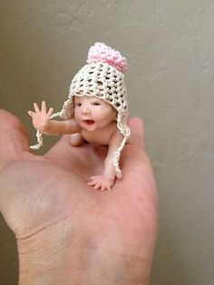 Polymer clay baby doll | New and Used OOAK Polymer Clay Art Baby Doll Artist Original sculpt ...