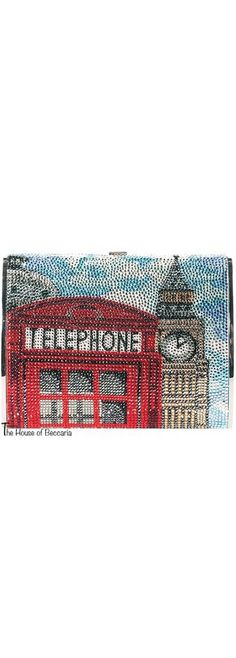 ~London Calling: Judith Leiber Crystal Minaudiere London Clutch | The House of Beccaria