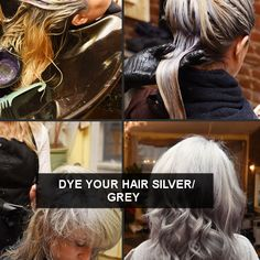 Dye Hair Grey