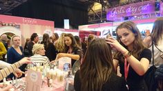 Benefit Cosmetics at Girls Day Out Show 2016.
