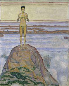 Ferdinand Hodler , Blick ins Unendliche II, 1903/04