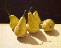 Tatyana Klevenskiy - Still Life with Pears Still Life 2, Still Life Fruit, Still Life Photos, Object Photography, Still Life Photography, Food Photography, Famous Art Pieces, Pyrus, Still Life Oil Painting