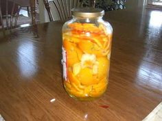 Orange Peel Cleaner Recipe: Put them orange peels in a glass jar. (Note, you add lemon peels too.) Fill the jar White vinegar and let it sit for 2 weeks. After two weeks strain the liquid. Mix water with the vinegar in a ratio of Use and enjoy. Homemade Cleaning Products, Cleaning Recipes, Natural Cleaning Products, Cleaning Hacks, Cleaning Spray, Cleaning Supplies, Diy Cleaners, Cleaners Homemade, Household Cleaners
