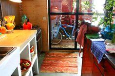 kelim kilim in kitchen.