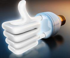 Avui a l'#actuem: Amb les bombetes de baix consum pots estalviar fins a un 75% d'#energia i... de diners! #sostenibilitat
