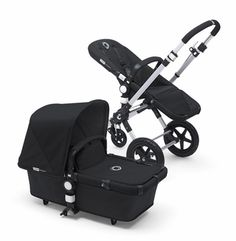 Bugaboo Cameleon3 Black Base w Black Fabric