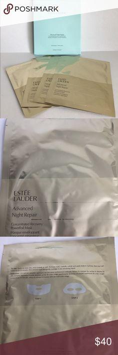 Estée Lauder Advanced Night Repair Mask Set of 4 Estée Lauder Advanced Night Repair Mask Set of 4 New Estee Lauder Makeup