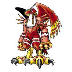 Garudamon - Ultimate level Bird Man digimon