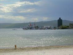 Loch Leodamais in Port Ellen, Isle of Islay