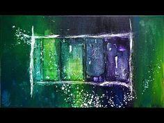 """Abstrakte Acrylmalerei """"Buschfunk"""" - Abstract Acrylic Painting """"bush radio"""" - StiiN Art - YouTube"""