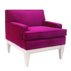Junior Templeton Chair  Project Décor  Bold pop of color!