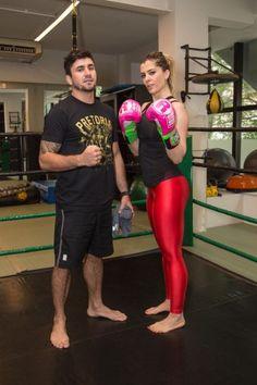 Semana passada fui conhecer o treino do Rodrigo Ruiz na Bodytech dos Jardins. Ele é formado em Educação Física, lutador profissional de MMA e Personal Fight de, por exemplo, Sabrina Sato, Anitta, Bárbara Paz e Eu, hahahaha.