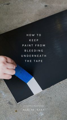 The DIY hack that will save you some stress! House Painting Tips, Tape Painting, Diy Painting, Painting Hacks, Painting Trim, Pour Painting, Painting Abstract, Acrylic Paintings, Painters Tape Design