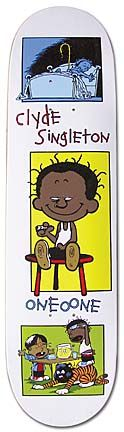 Model: Clyde Singleton  Artist: Sean Cliver  Company: 101  Release Date: 1996