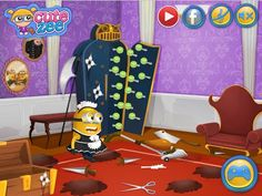 Despicable Me Minions House Makeover - Disney Cartoon Games