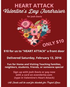 Heart Attack Fundraiser How-To