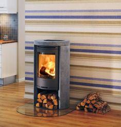 Contura 520T  #KernowFires #stove #woodburner #cornwall #contemporary #modern #wadebridge #redruth #fireplaces #freestanding