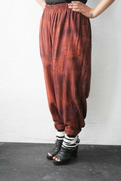 Dyed in Maroon Trousers