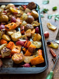 NYT Cooking: Roasted Vegetables