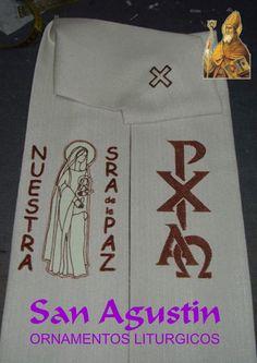Estolon obsequiado al Parroco de Nuestra Sra. de la Paz, de Olivos, Provincia de Buenos Aires.-