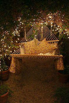 Recycled Cotton Rope Swing Mesh Hammock Hanging Outdoor Garden Patio Yard Porch   eBay
